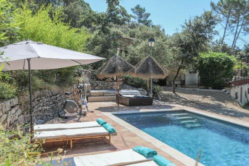 Luxury & Relaxing Private Pool : Hebergement proche d'Entrecasteaux