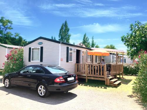 Mobile Home Camping l'Europe 4* : Hebergement proche de Cournonterral