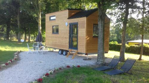 Hébergement la tiny house de l'aa