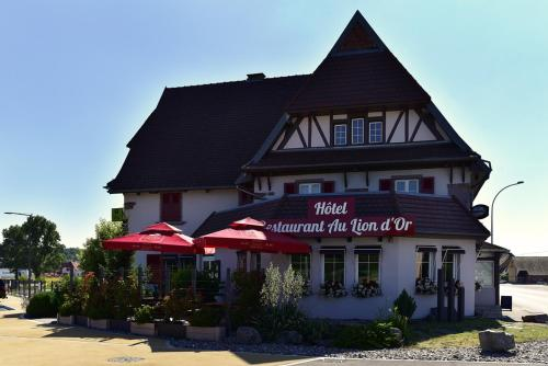 Au Lion d'Or : Hotel proche de Sentheim