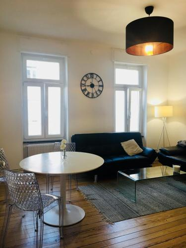 Appartement F3 le Saint-Pierre proche Pompidou Metz parking gratuit.