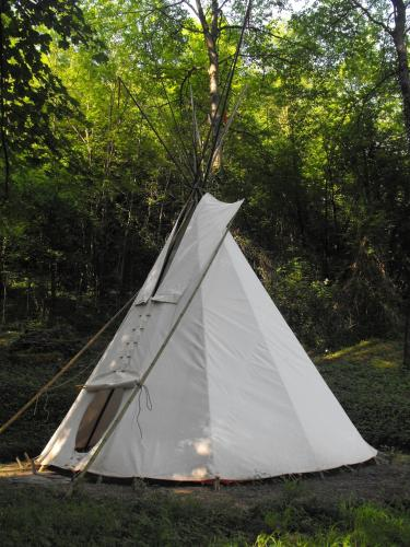 Photo Tipis dans la nature