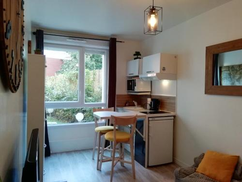 Chic studio in Paris : Appartement proche de Saint-Brice-sous-Forêt