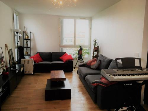 Appartement 2 Bedroom Flat Near Pere Lachaise