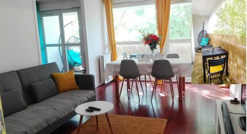 Lovely appartment talence COSY100m2 parking + balcon/terasse : Appartement proche de Gradignan