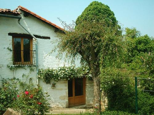 Rose Cottage in France : Hebergement proche de Clussais-la-Pommeraie