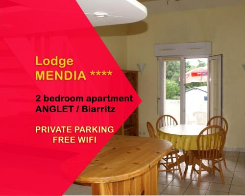 Lodge Mendia : Appartement proche d'Anglet