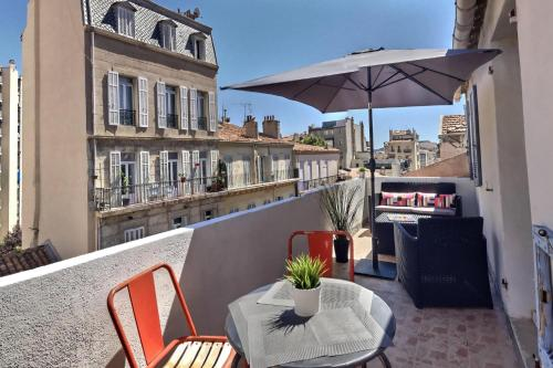 LES APPARTEMENTS D'EDMOND ST SEBASTIEN : Appartement proche du 6e Arrondissement de Marseille