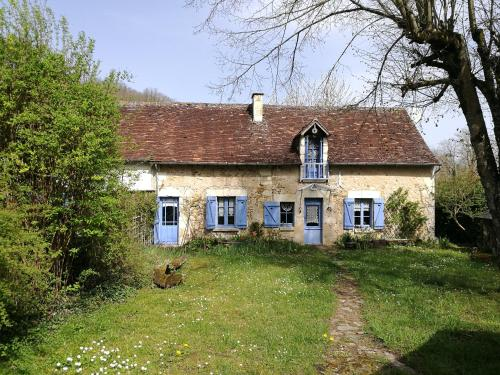 French cottage in the Loire Valley : Hebergement proche de La Celle-Guenand