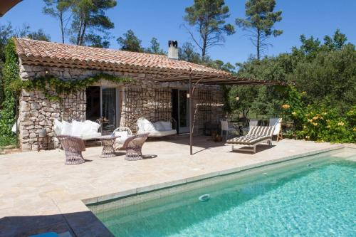 Luxury Stone With Private Pool : Hebergement proche d'Entrecasteaux