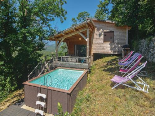 Holiday Home Bordezac XI : Hebergement proche de Courry