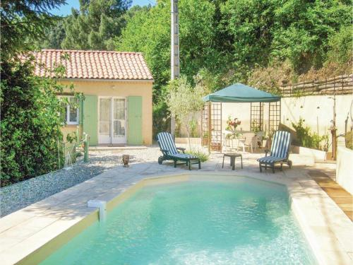 Studio Holiday Home in Les Salles du Gardon : Hebergement proche de Saint-Martin-de-Valgalgues