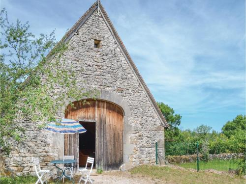 Two-Bedroom Holiday Home in Padirac : Hebergement proche de Mayrinhac-Lentour