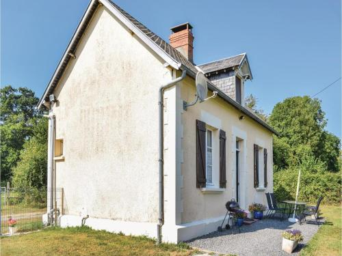 Holiday home Le Dezert with a Fireplace 415 : Hebergement proche de Quibou