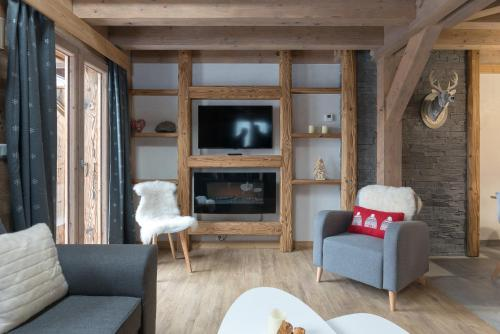 Mont Blanc Lodge and Spa - Chalets1066 : Appartement proche de Taninges