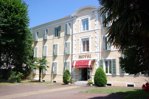 Hotel The Originals Pau Villa Montpensier (ex Inter-Hotel) : Hotel proche d'Assat