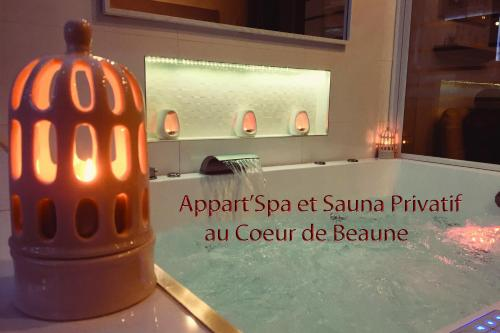 Appartement Appart' Spa et Sauna Privatif Au Coeur De Beaune