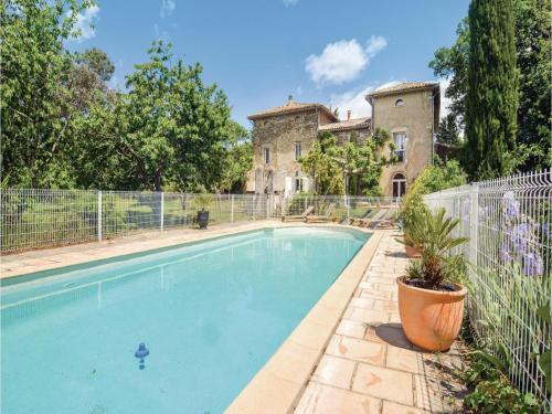 Holiday Home Saint-Ambroix with Fireplace I : Hebergement proche de Saint-Florent-sur-Auzonnet