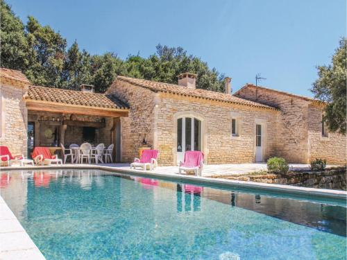 Five-Bedroom Holiday Home in Le Garn : Hebergement proche de Saint-Privat-de-Champclos