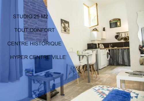 STUDIO 25 M2 HYPER CENTRE : Appartement proche de Pia
