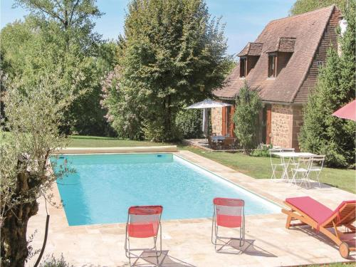 Holiday Home Boisseuilh with Fireplace XI : Hebergement proche de Preyssac-d'Excideuil