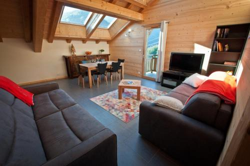 MORZINE APPARTEMENT 6 PERSONNES : Appartement proche d'Essert-Romand