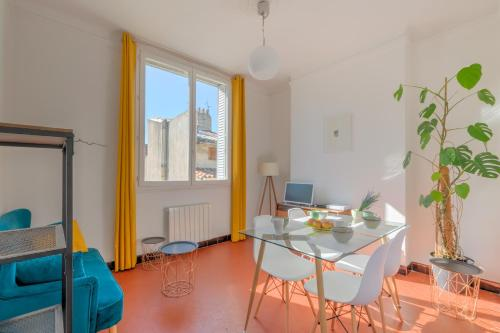 Beautiful and bright apartment two steps from the Vieux-Port : Appartement proche du 6e Arrondissement de Marseille