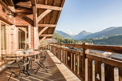 Chalet luxe GRAND DUC : Hebergement proche d'Essert-Romand