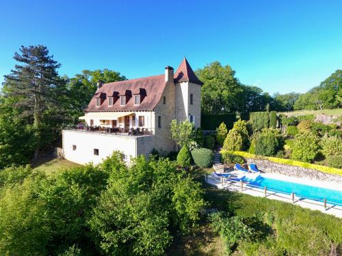 Castelnaud-la-Chapelle Villa Sleeps 8 Pool Air Con : Hebergement proche de Carves