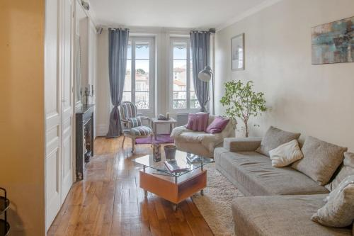 Luckey Homes - Grande Rue de la Croix-Rousse : Appartement proche de Collonges-au-Mont-d'Or