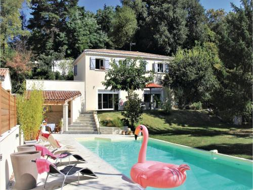 Six-Bedroom Holiday Home in Montelimar : Hebergement proche de Saint-Gervais-sur-Roubion