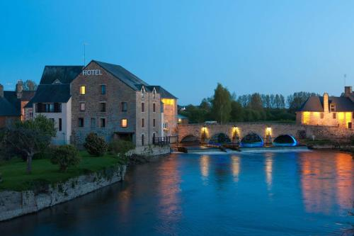Best Western Le Moulin de Ducey : Hotel proche de Le Grand-Celland