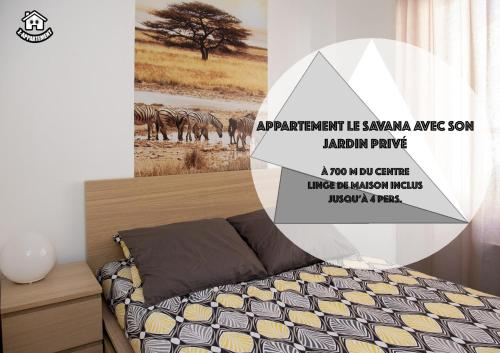 le savana : Appartement proche de Saint-Gelais