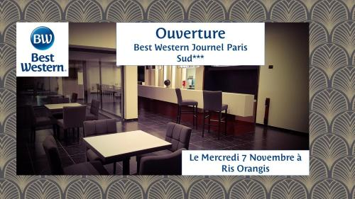 Best Western Hotel Journel Paris Sud