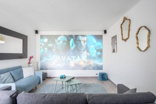 Home theater appartement in Disneyland Paris