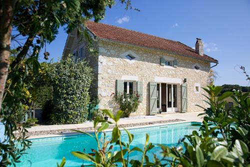 Saint-Julien-d'Eymet Villa Sleeps 7 Pool WiFi : Hebergement proche de Ribagnac
