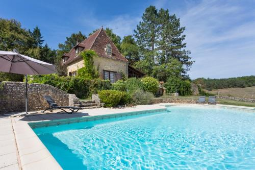 Tremolat Villa Sleeps 6 Pool WiFi : Hebergement proche de Lalinde