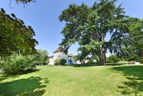 Castelmoron-sur-Lot Chateau Sleeps 20 Pool WiFi : Hebergement proche de Coulx