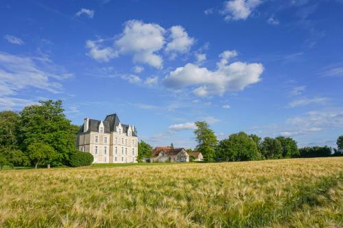 Archigny Chateau Sleeps 13 Pool WiFi : Hebergement proche de Chapelle-Viviers