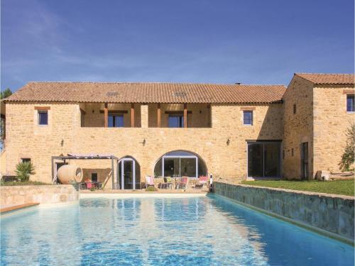 Five-Bedroom Holiday Home in Barjac : Hebergement proche de Saint-Privat-de-Champclos