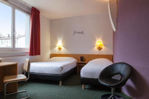 Hotel The Originals Mulhouse Salvator (ex Inter-Hotel) : Hotel proche de Lutterbach