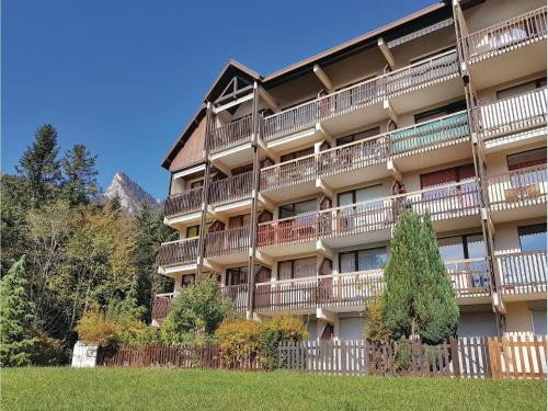 0-Bedroom Apartment in S.Pierre de Chartreuse : Appartement proche de Saint-Étienne-de-Crossey
