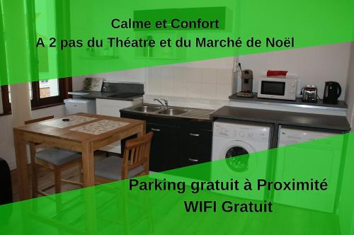 Welcome Calais Centre St Pierre Fontinettes : Appartement proche d'Ardres