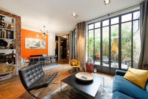 Dream loft with private patio near Nation for 6p : Appartement proche du 12e Arrondissement de Paris