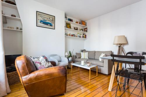 Appartement *New* Charging flat in Paris 18