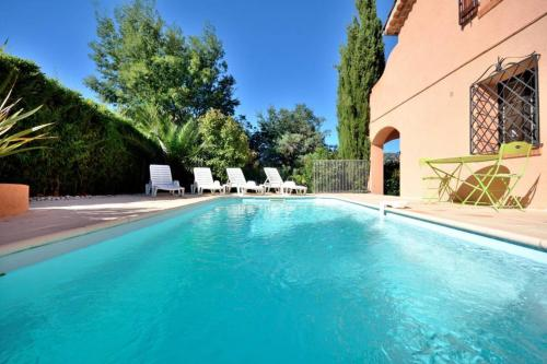 Lovely Villa 5 min to the sea : Hebergement proche de Théoule-sur-Mer