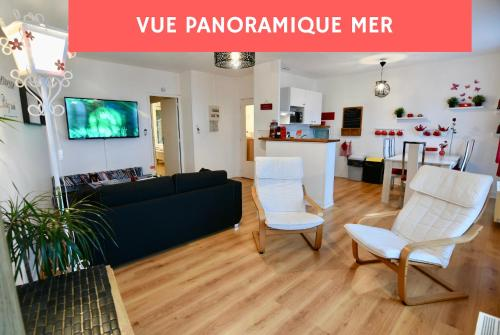 Appart Brest City 1 (vue mer) : Appartement proche de La Forest-Landerneau