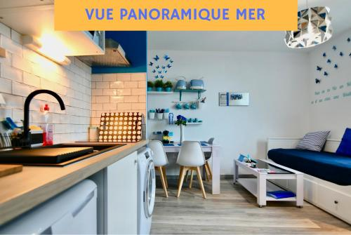 Appart Brest City 5 (vue mer) : Appartement proche de La Forest-Landerneau