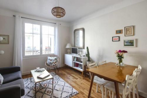 Appartement Cute flat for 3p in the heart of the 11th district