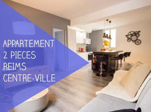 confortable, beau et charmant appartement : Appartement proche de Fresne-lès-Reims